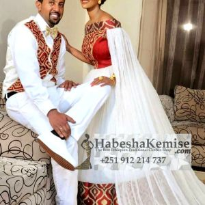 Fire and ove-ethiopian-traditional-dress-wedding-22