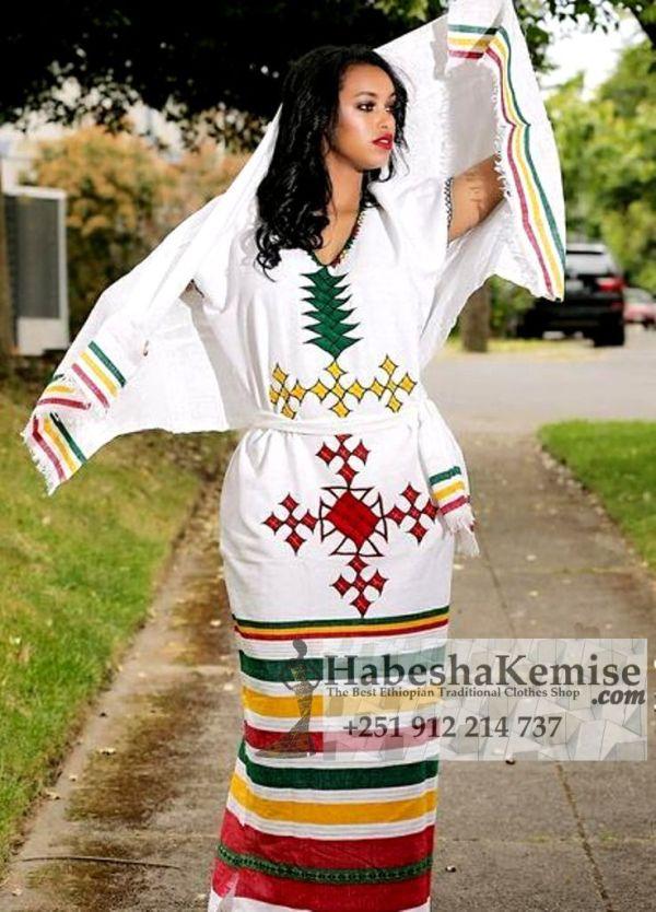 Habesha Lij Ethiopian Traditional Clothes-65