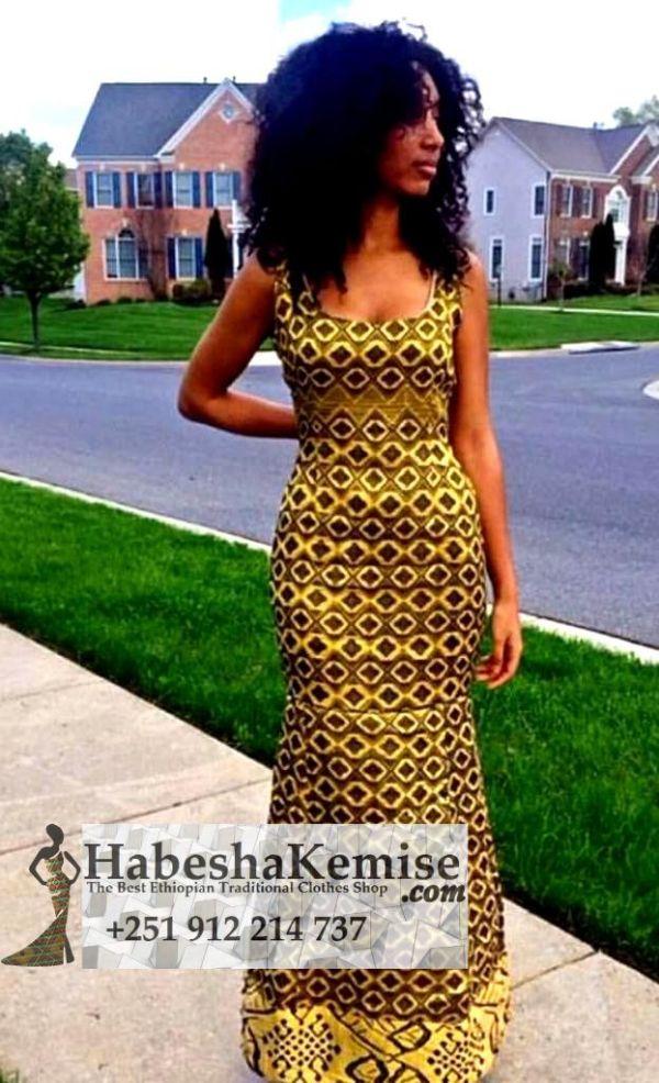 Habesha Neber Ethiopian Traditional Dress-27