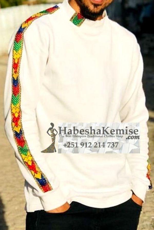 Netsa Negn Ethiopian Traditional Dress Mens-23