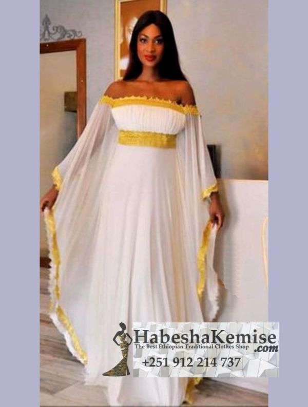 Netsa Princess Ethiopian Traditional Dress-30