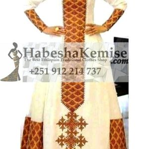 Nigist's Ethiopian Traditional Dress-6
