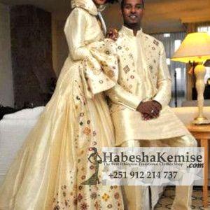 Priceless Fiker Ethiopian Traditional Dress Wedding-13