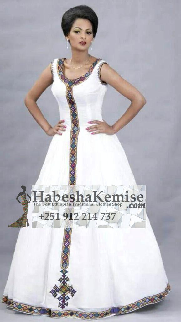 Royal Habesha Ethiopian Traditional Clothes-85