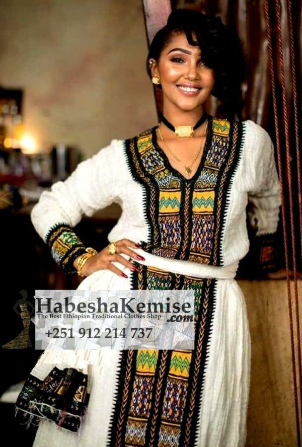 Tsedeys Smile Ethiopian Traditional Clothes-79