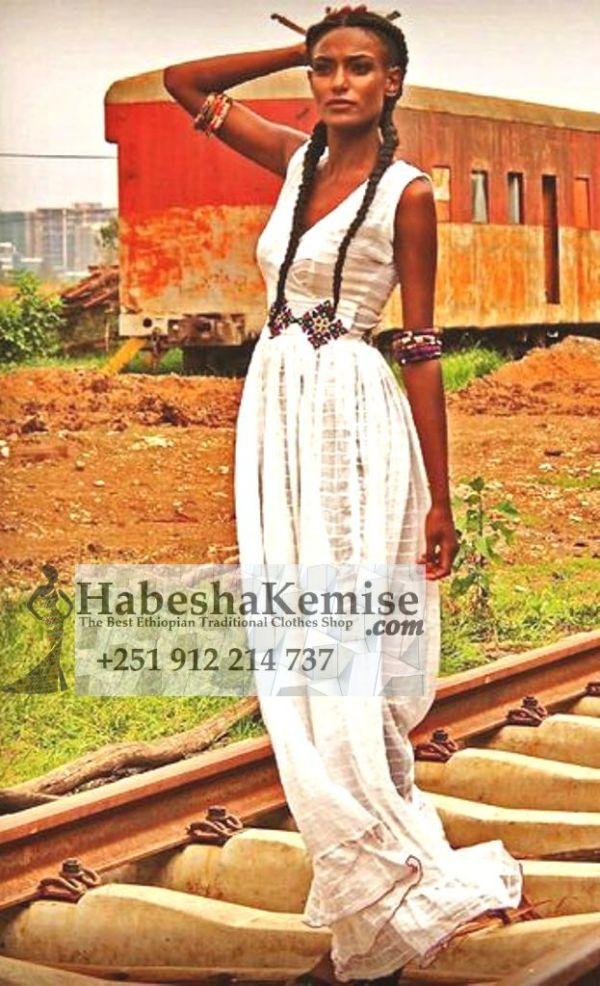 Unique Yodit Ethiopian Traditional Clothes-99
