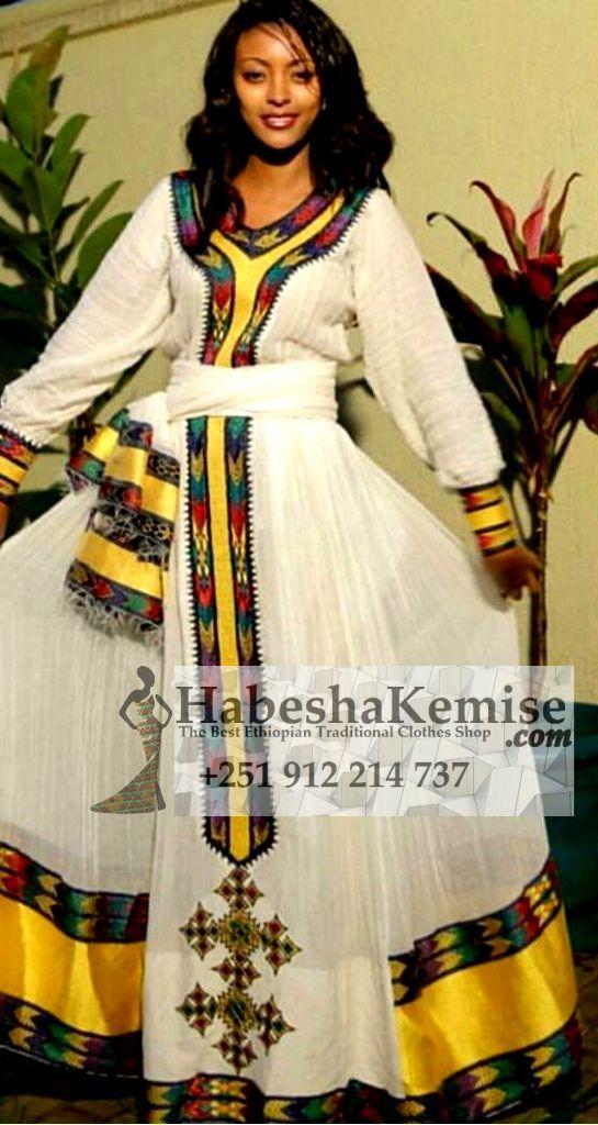 Wubit Ethiopian Traditional Clothes-46
