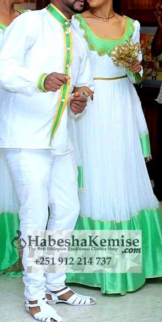 Yanchew Negn Ethiopian Traditional Dress Wedding-10