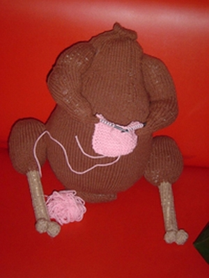 Knitted Turkey Knitting