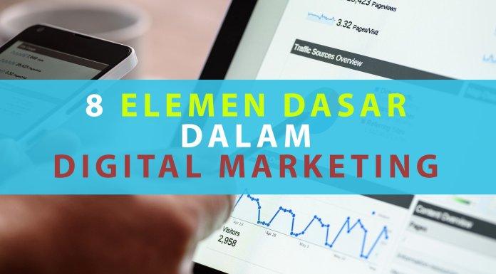 8 Elemen Dasar dalam Digital Marketing