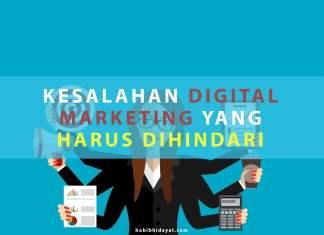 Kesalahan Digital Marketing yang Harus Dihindari