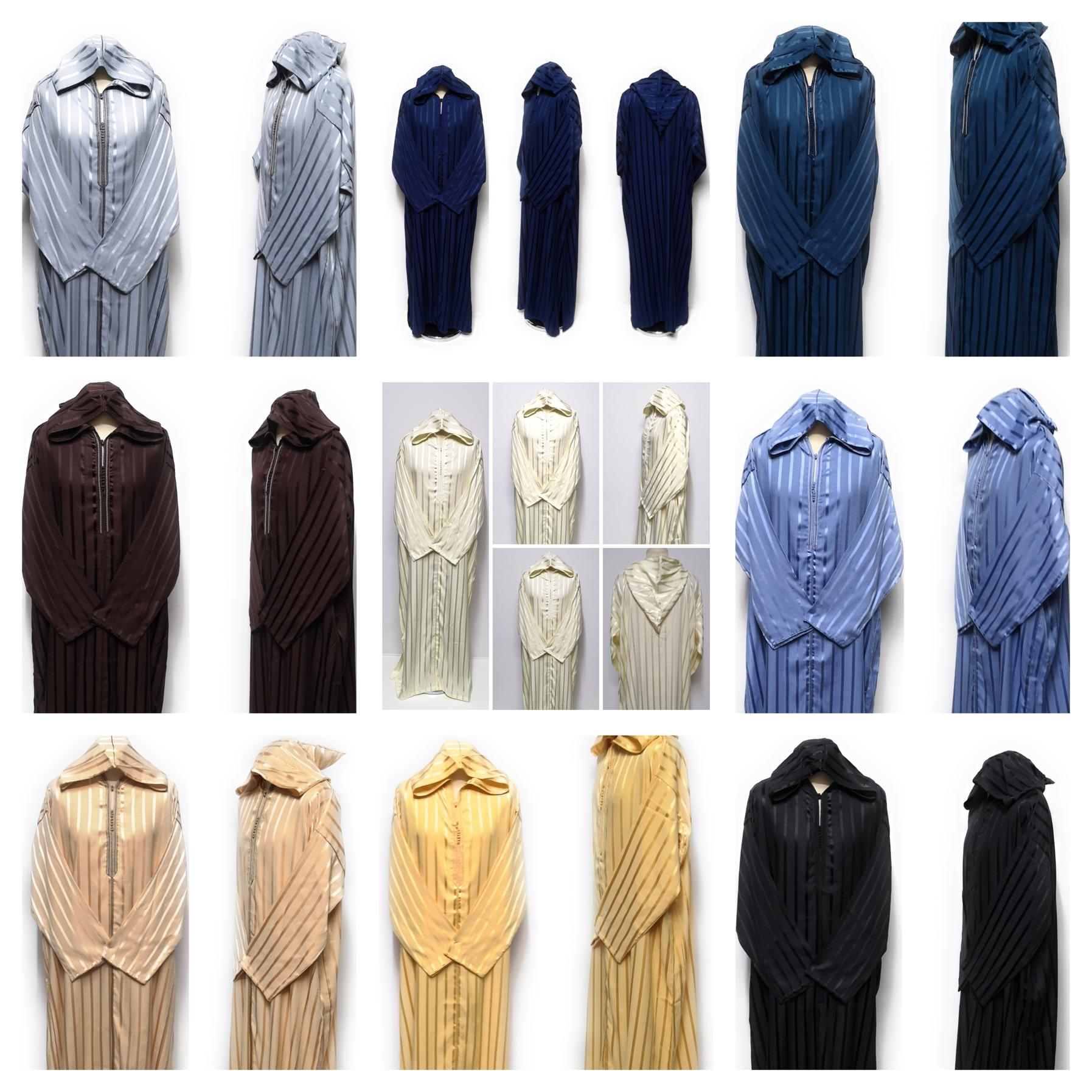 Rich  soft cotton Men  Moroccan thobe//jubba//djelleba.kandorah.dishdash.size 58