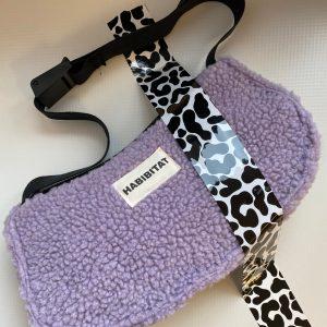 Baguette Bag Teddy Lavendel