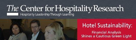 Estudio de Sostenibilidad en Hoteles. Universidad de Cornell