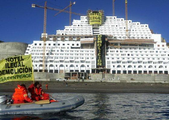Hotel Algarrobico. Greenpeace España