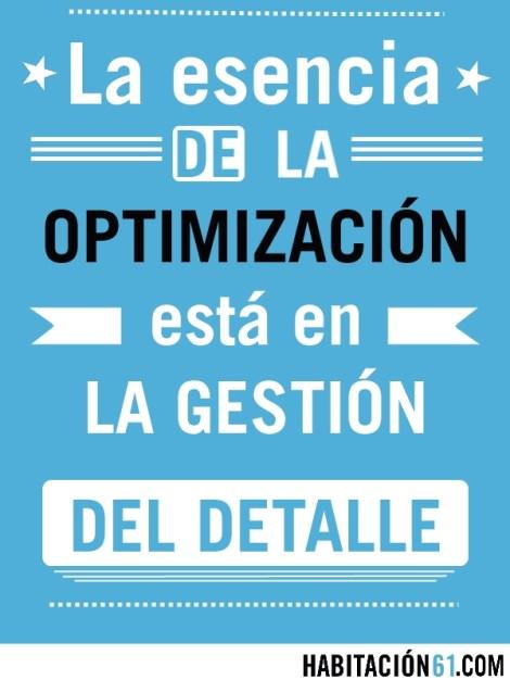Infografía. La esencia de la optimización.
