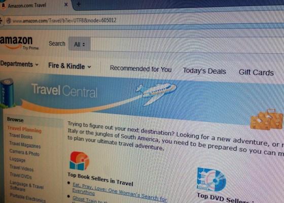 Portal de Amazon Travel