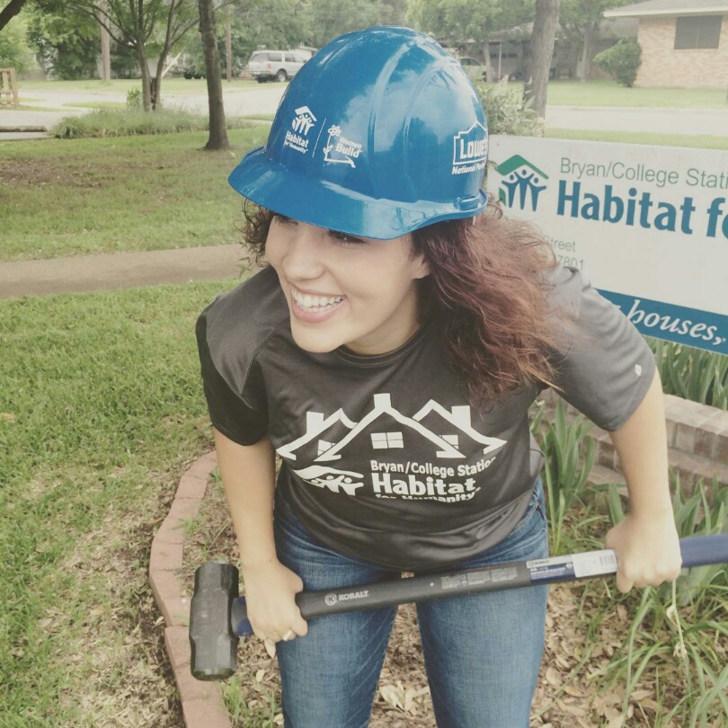 staff Community Outreach and Volunteer Manager Madeline Zwicke BCS Habitat for Humanity