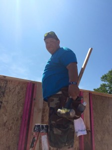 Bryan/College Station Habitat for Humanity Weekend Warrior Volunteer