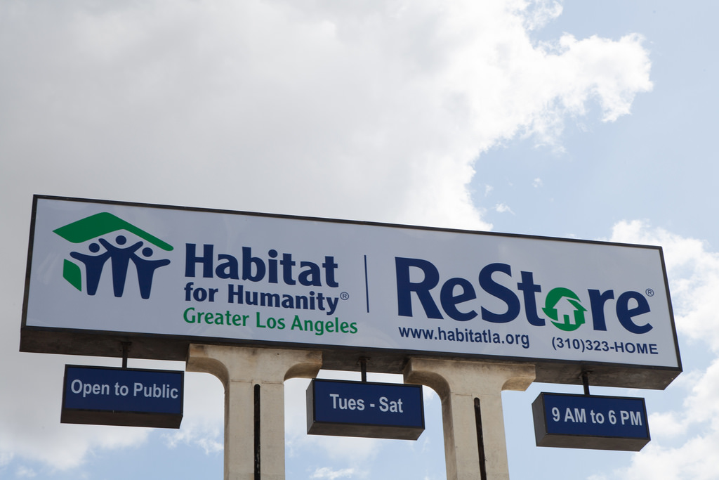 ReStore Sells Used Building Materials And High End Home