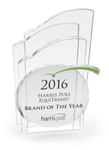"""Habitat for Humanity named """"Brand of the Year"""" in the social services nonprofit category based on the 2016 Harris Poll EquiTrend® Equity Score."""