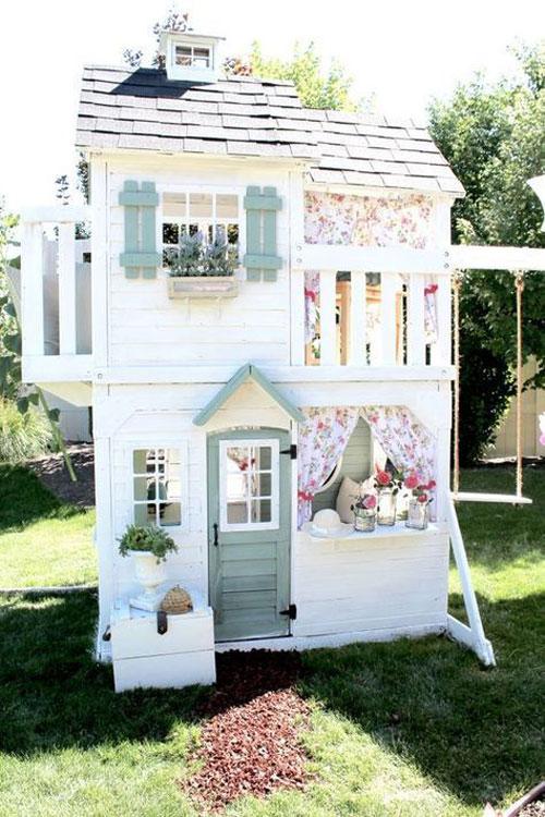 meilleures cabanes en bois pour vos enfants