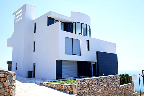 Exterior Villa Design Photo Gallery