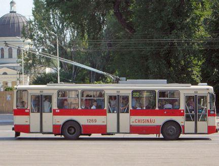 Trolleybus em Chisinau