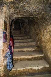 """Escadaria de Acesso ao """"Monastério Caverna"""""""