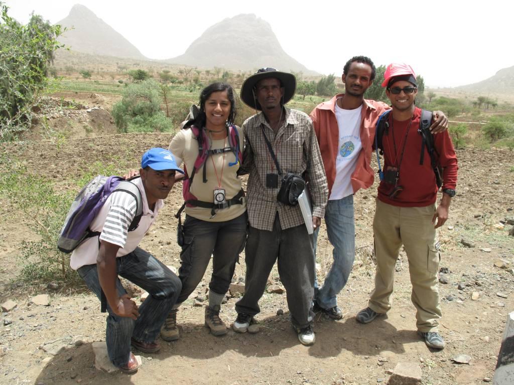 survey team Ethiopia