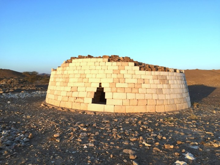 restored umm an nar tomb