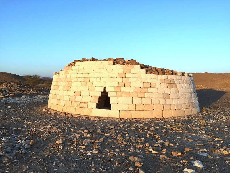 restored umm an nar tomb