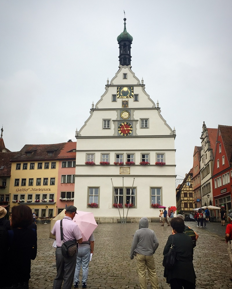 Around the Marktplatz.