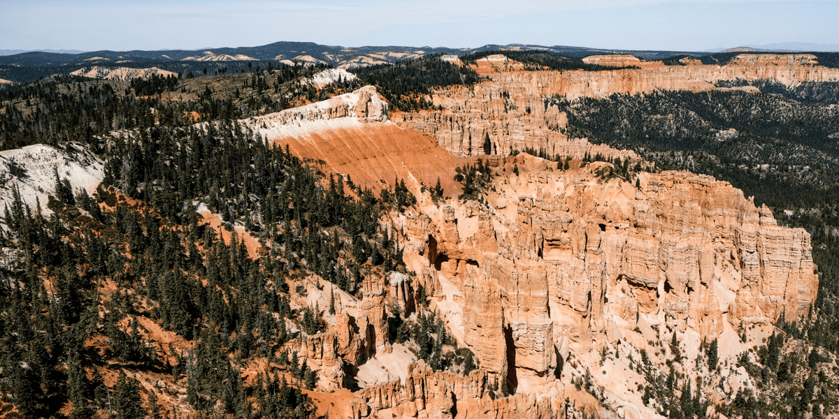 Rainbow Point in Bryce Canyon National Park