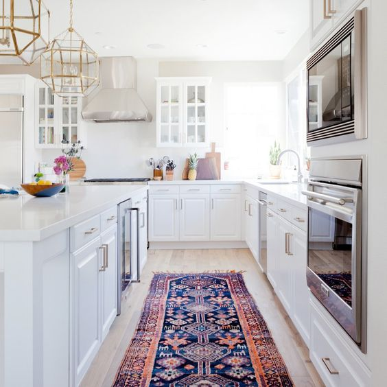 rug runners for kitchen old fashioned chair step stool habitually chic® » we've got a runner