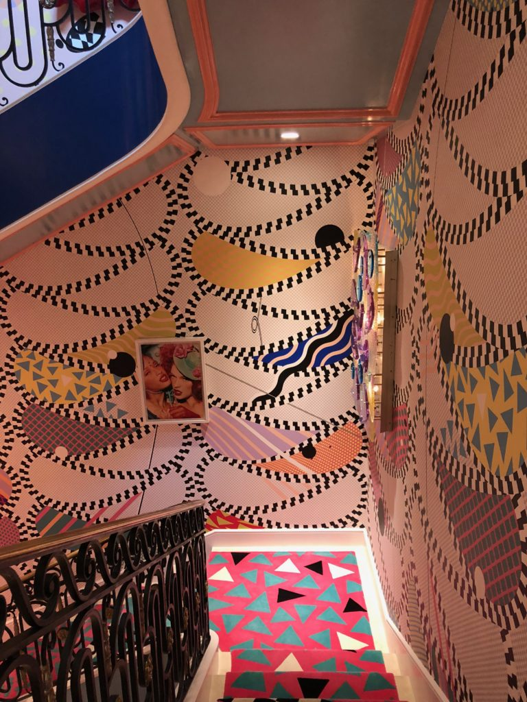 Habitually Chic Color Me Happy Staircase By Sasha Bikoff