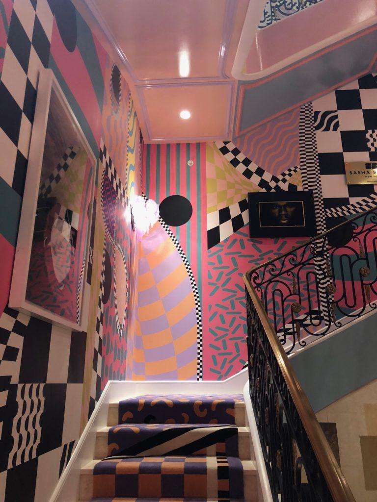 Habitually Chic  Color Me Happy Staircase by Sasha Bikoff