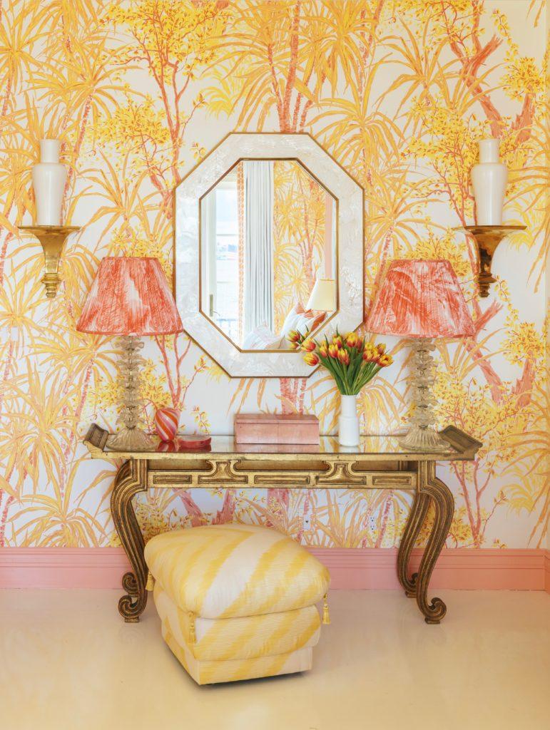 Habitually Chic  Meg Braff for Kips Bay Show House Palm