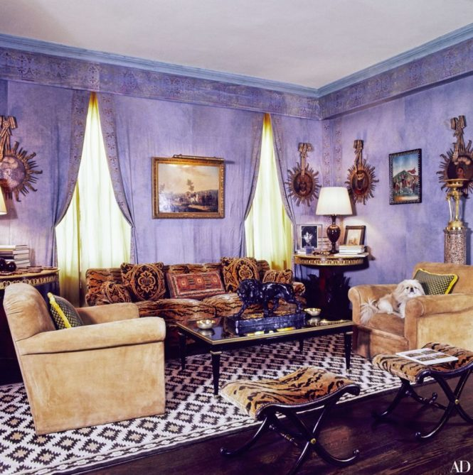 Habitually Chic The Homes Of Lee Radziwill