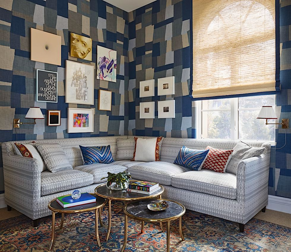dunham sofa french connection coast review habitually chic peter for kips bay show house it was raining when i visited the in palm beach and s room looked like perfect place rainy day activities