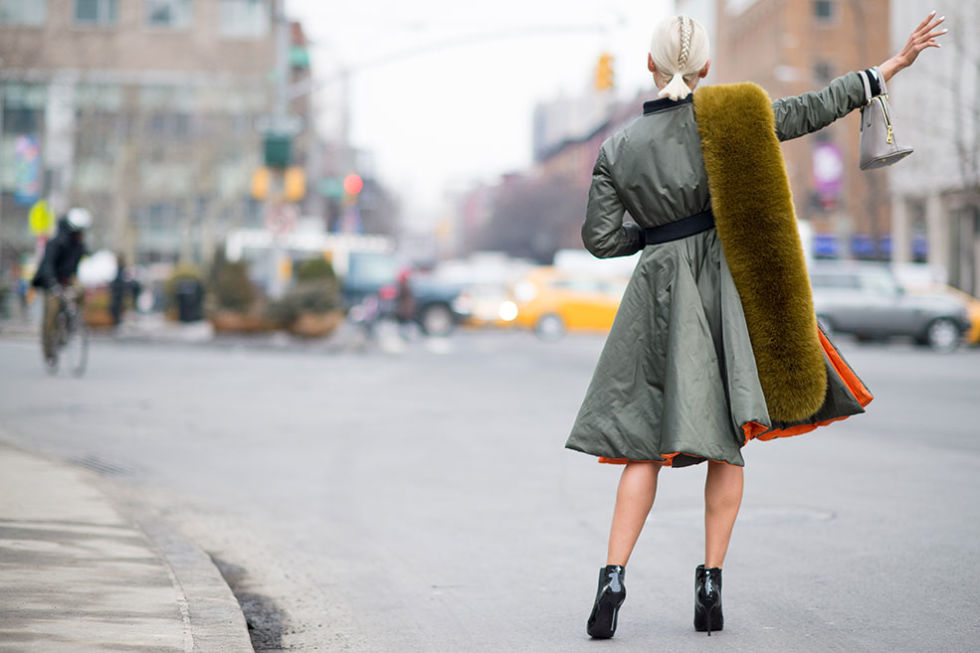 Habitually Chic New York Street Style Arctic Edition