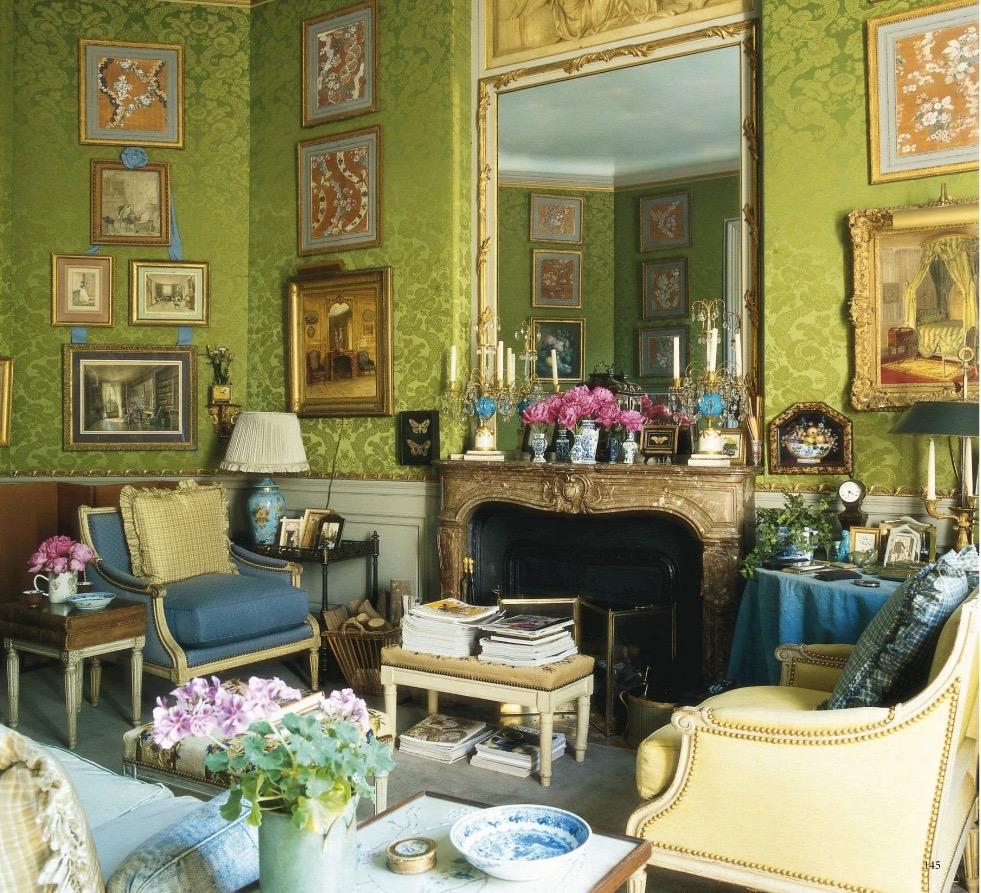 Habitually Chic  Green is Good Paris Edition