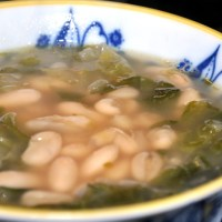 Escarole and Cannellini Bean Soup