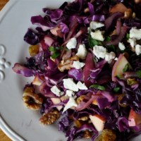 Delicious Warm Red Cabbage Salad