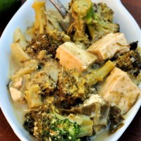 Here's To You, Tofu: Thai Green Curry with Tofu & Bok Choy