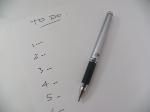 To-do lists (listes de choses à faire)