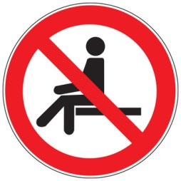 Ne pas s'asseoir