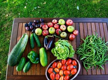 manger légumes fruits