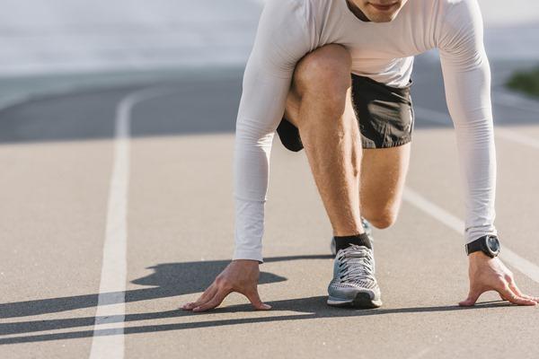comment utiliser le sport pour aller de l'avant ligne de départ