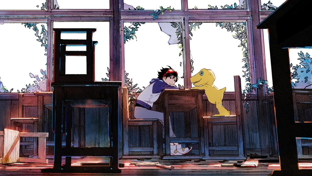 Gameplay Digimon Survive